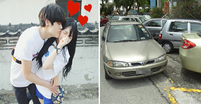 Malaysian College Student Met Her Boyfriend Thanks To Double Parking - World Of Buzz