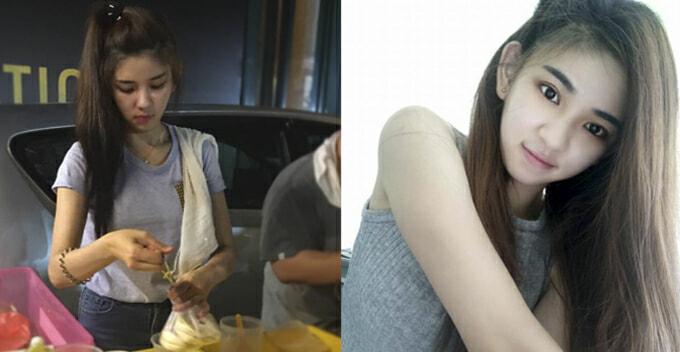 Malaysian Girl Selling 'sao Bao' At Night Market Got Netizens Hungry - World Of Buzz