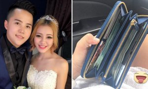 Malaysian Husband Shows His Love By Putting Stacks Of Cash Into Wife's Purse - World Of Buzz 3