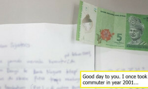 Malaysian Pays Back RM1 Debt From 2001 To KTM , Netizens Wowed By Honesty - World Of Buzz 1