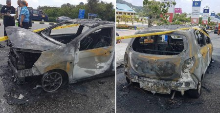 """My Mom's Car Perodua Axia Exploded This Morning..."" - World Of Buzz 1"