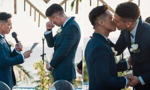 Netizens In Heated Debate Over Viral Pictures Of Same-Sex Couple's Marriage - World Of Buzz 2