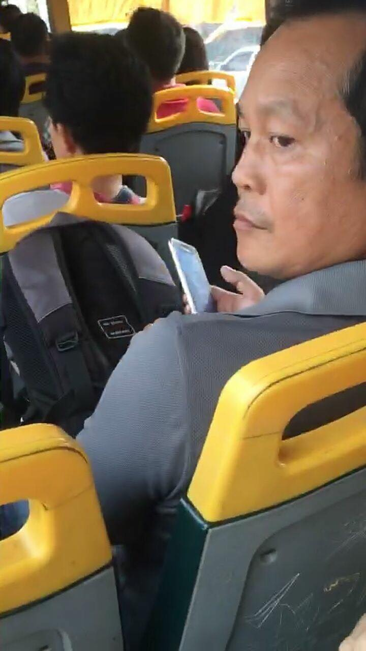 Pervert Takes Pictures Of A Girl Sleeping On Bus, Netizens Blame Lady - World Of Buzz 1