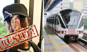 "Pervert Who Said ""Can I Hisap You?"" To Female LRT Passenger Successfully Apprehended - World Of Buzz 2"
