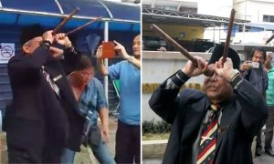 Raja Bomoh Performs Another Ritual, This Time Outside HKL - World Of Buzz 3