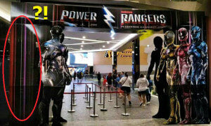 Red Power Ranger Goes Missing in GSC Mid Valley, Netizens on the Hunt for Him - World Of Buzz