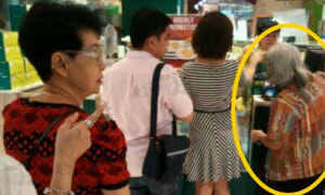 Singaporean Couple Helps Elderly Lady Out But Netizen Reveals The Ugly Truth - World Of Buzz