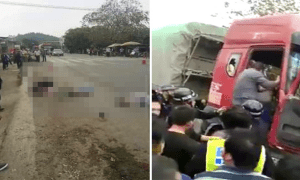 Speeding Lorry Gruesomely Runs Over Group of Children Crossing the Road - World Of Buzz