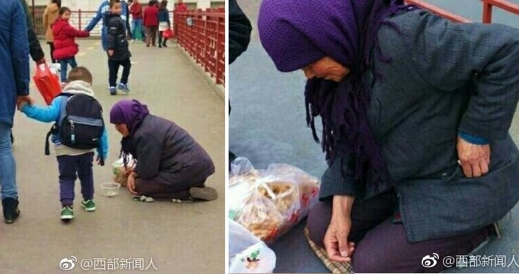 This Horrid Beggar from China Will Totally Piss You Off with What She Did - World Of Buzz 6