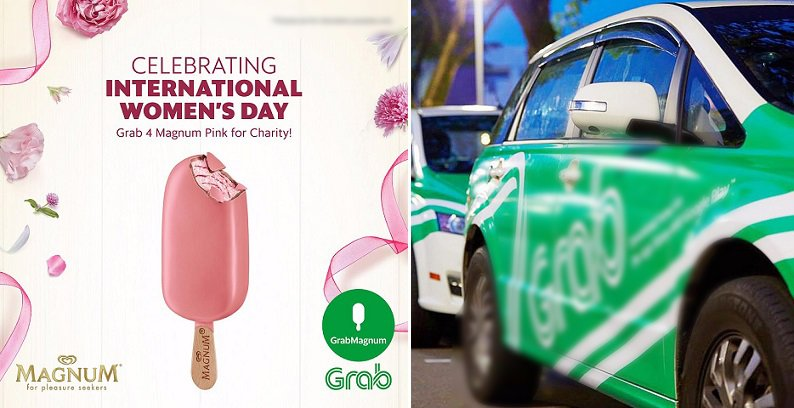 This International Women's Day, Celebrate With FOUR Pink Magnums Delivered To You By Grab! - World Of Buzz