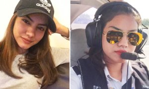 Beautiful Malay Pilot Makes Netizens Suddenly Interested In Flying A Plane - World Of Buzz 1
