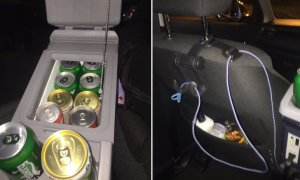 Best GrabCar Ride Ever: Free Canned Drinks, Cigarettes, Charger and Perfume! - World Of Buzz 2