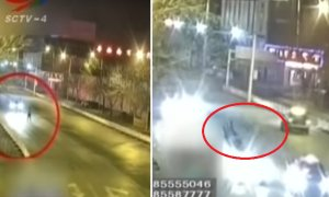 Chinese Couple Chases Each Other on the Road, Gets Hit by Car Resulting in Death & Injuries - World Of Buzz 7