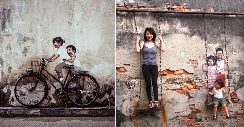 George Town's Wall Art is the ONLY Asian Destination Featured in Lonely Planet's Book - World Of Buzz 5