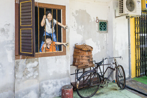George Town's Wall Art is the ONLY Asian Destination Featured in Lonely Planet's Book - World Of Buzz