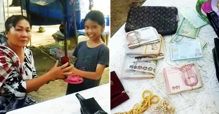 Honest Little Girl Returns Bag Containing Rm16,665 Cash To Grateful Thai Lady, Gets Rewarded - World Of Buzz 1