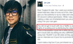 JinnyBoyTV Calls Out Company for Using his Video Without Permission - World Of Buzz 4