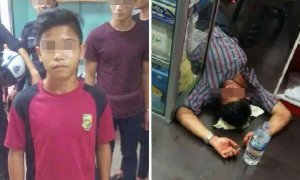 Malaysian Boy Scolded for Skipping School, Calls Gang to Beat Up Shopkeeper - World Of Buzz 7