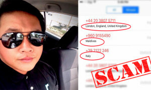 Malaysian Man Cautions Netizens to Beware of These Foreign Numbers - World Of Buzz