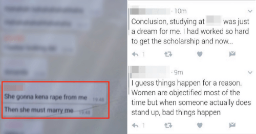 Malaysian University Student Withdraws from College After How Rape Joke Was Handled - World Of Buzz 12