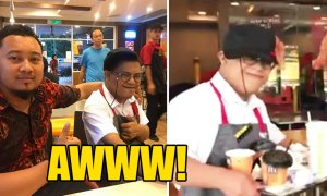 Malaysian Youth With Down Syndrome Excited for His First Day At Mc Donald's - World Of Buzz 2