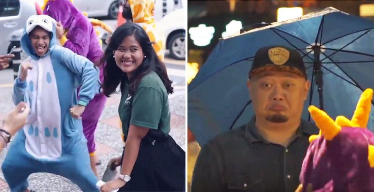 Malaysians Throw Surprise Dance Parties for Random Strangers, Gets Hilarious Reactions - World Of Buzz 7