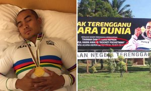 M'sian Cycling World Champ 'Rocketman' Hilariously Turns into 'Pocketman' in Embarrassing Typo - World Of Buzz