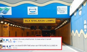 Netizens Slam DBKL for Closing SMART Tunnel During Heavy Rains, But Quickly Gets Schooled - World Of Buzz