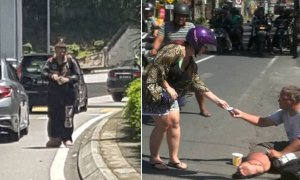 Notorious German Beggar Benjamin Holst Came Back to Kuala Lumpur for His Begging Scam - World Of Buzz 4