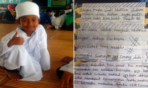 Photos of Johor Schoolboy's Heartbreaking Diary Entry Have Surfaced - World Of Buzz 3