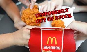 Spicy Ayam Goreng McD Out of Stock for 4 Days Starting Today! - World Of Buzz
