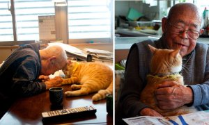 The Relationship Between this 94-Year-Old Man and His Cat Will Make You Smile - World Of Buzz
