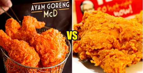 This Malaysian Guy Hilariously Reviews About KFC and McD's Fried Chickens - World Of Buzz 1