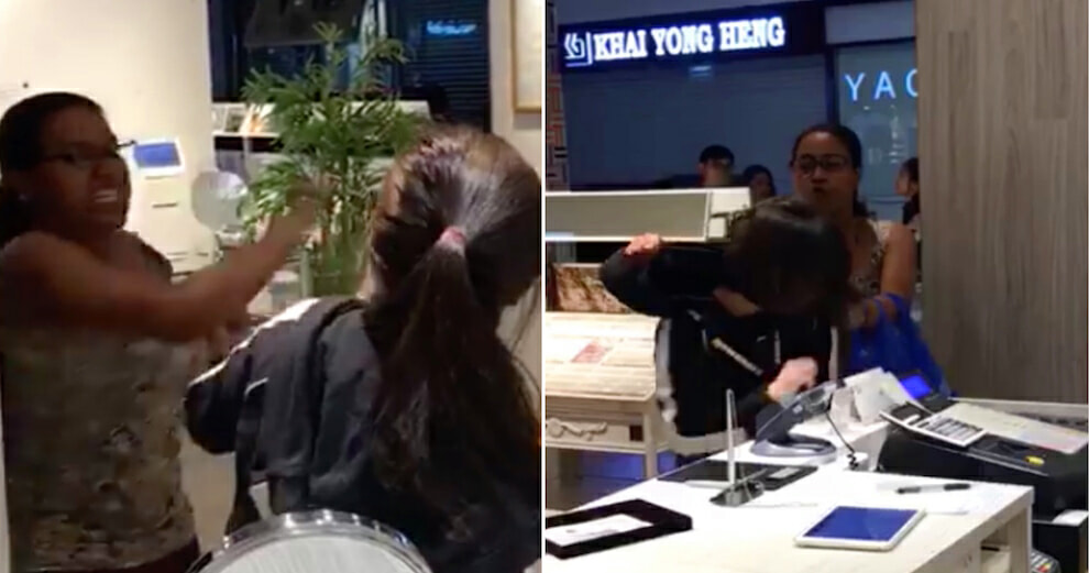 Update: Singaporean Lady Arrested for Assaulting Sales Girls - World Of Buzz 1