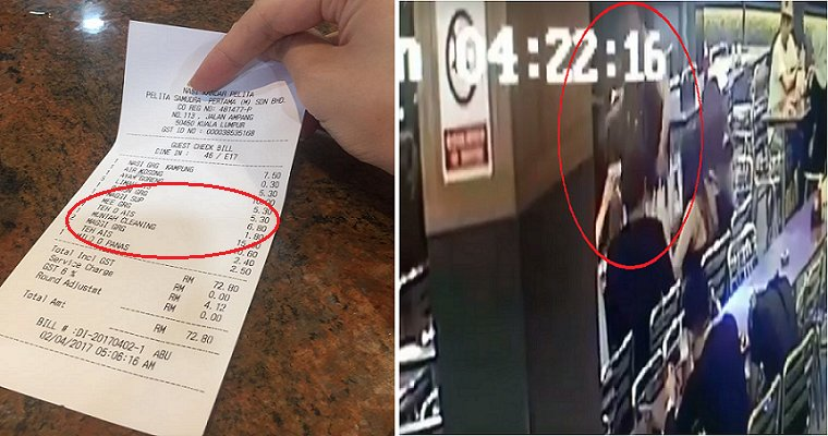 "Viral Receipt of Nasi Kandar Pelita's RM15 ""Muntah Cleaning"" Charge Fully Explained - World Of Buzz 3"