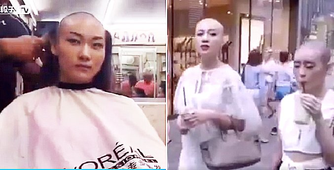 Viral Video of Ladies Getting Bald Is Not About Fashion, Its A Scam! - World Of Buzz 1