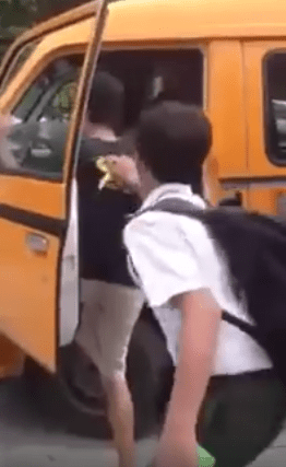 Viral Video of Malaysian Students Mistreating Special Needs Man Sparks Outrage - World Of Buzz 3