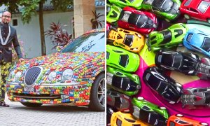 Why Did This Malaysian Cover his Jaguar Entirely in Toy Cars? - World Of Buzz 4