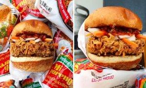 Awesome Indomie Coated Burger Has Got Malaysians Salivating Over It - World Of Buzz 4