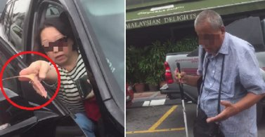 Blind Man Goes Around Klang Valley Blocking the Road and Blackmails Drivers Asking Him to Move - World Of Buzz 6