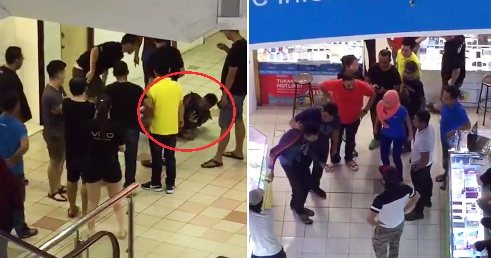 Drug Addict Caught After Attempting to Sexually Assault Young Lady in Mall's Female Toilet - World Of Buzz