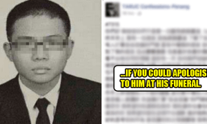 Friends of Suicide TARUC Student Urge Person Behind Cyber Bullying to Apologise at Funeral - World Of Buzz 6