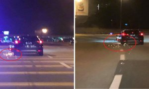 Malaysian Driver Hits and Runs Away from Scene While Dragging a Motorcycle Until Sparks Flew - World Of Buzz 2