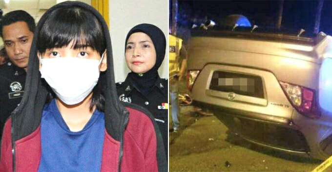 Malaysian Lady Who Rams 8 Cyclists Resorts To Crowd Funding For Legal Fees - World Of Buzz