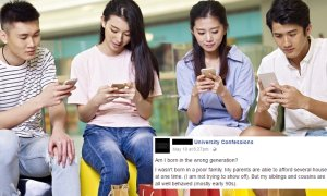Malaysian Student Expresses His Disappointment in Today's Materialistic Millennials - World Of Buzz