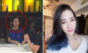 Pretty Malaysian Girl Working in Beverage Shop Has Got Netizens Thirsty - World Of Buzz 7