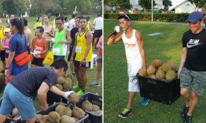 Singaporean Community Club Hosts Epic 5KM DURIAN Marathon! - World Of Buzz 3