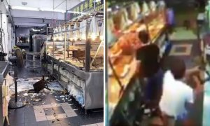 Singaporean Thugs Destroy Porridge Restaurant Because They Were Unhappy About the Bill - World Of Buzz