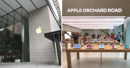 Singapore's Very First Apple Store Just Opened and It Looks Absolutely Stunning! - World Of Buzz