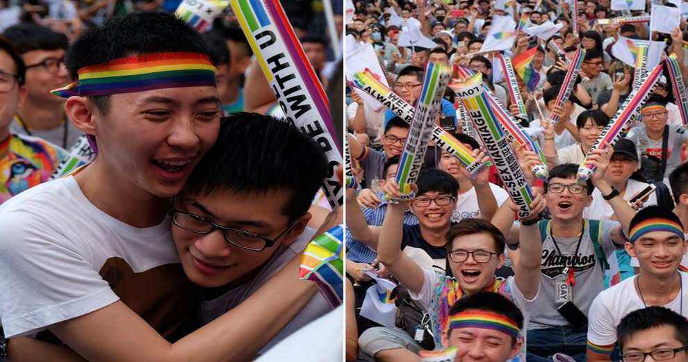 Taiwan to Legalise Same-Sex Marriage Very Soon - World Of Buzz 4